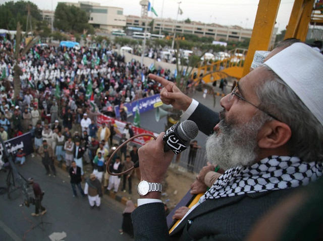 ji takes to the streets in support of palestine