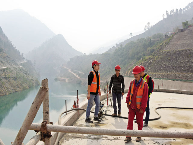 Officials fear Indian project upriver will impact Neelum-Jhelum's power production capacity. PHOTO: EXPRESS