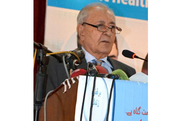 A file photo of Balochistan Governor Muhammad Khan Achakzai. PHOTO: EXPRESS