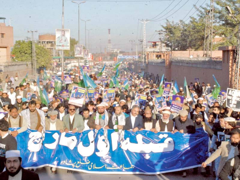 people take part in rally against the us photo abdul ghaffar baig express