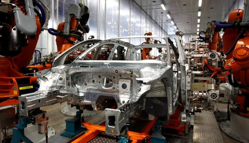 a car manufacturering plant photo reuters
