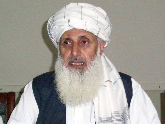 Professor Ibrahim Khan, Senator of Jamaat-e-Islami Pakistan (JIP) PHOTO: EXPRESS
