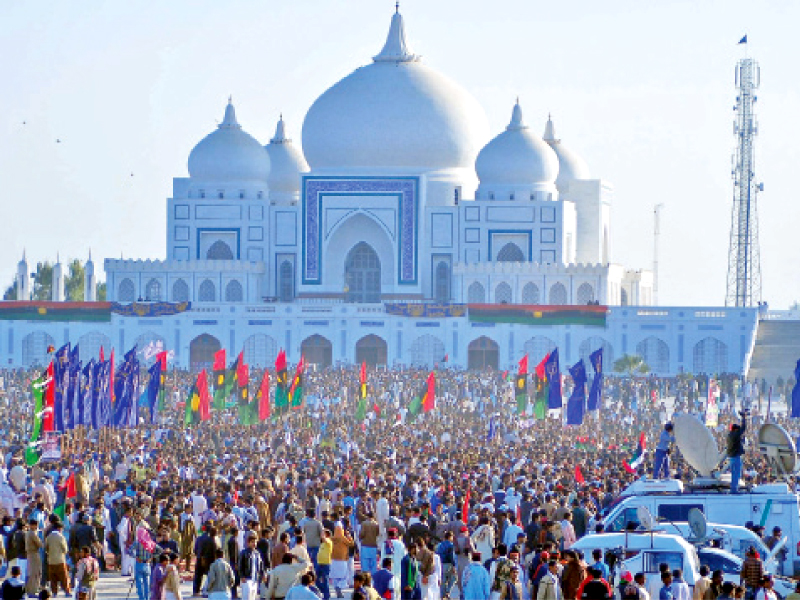 one million expected to arrive at garhi khuda bux today