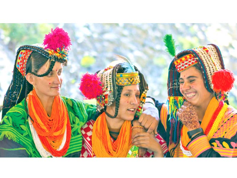 people of kailash community take part in their festivities photo file