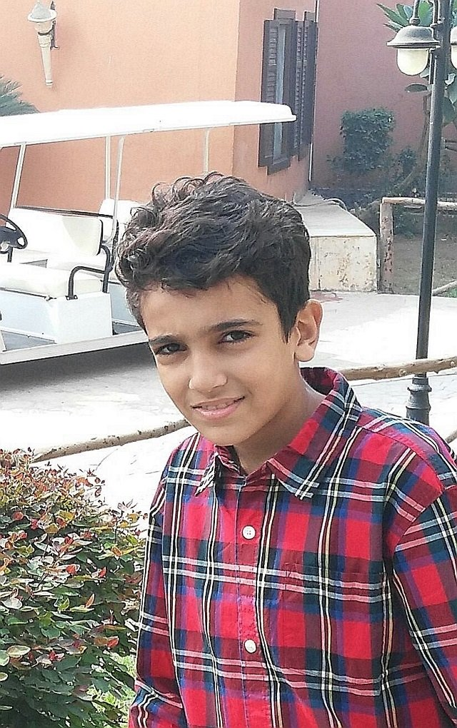 egyptian boy crowned smartest child in the world