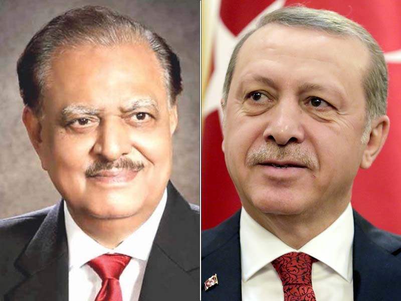 turkish president says pakistan has rendered unprecedented sacrifices in war against terrorism photo file