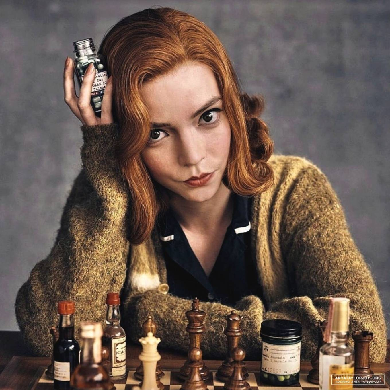 i d never played a single game of chess before anya taylor joy