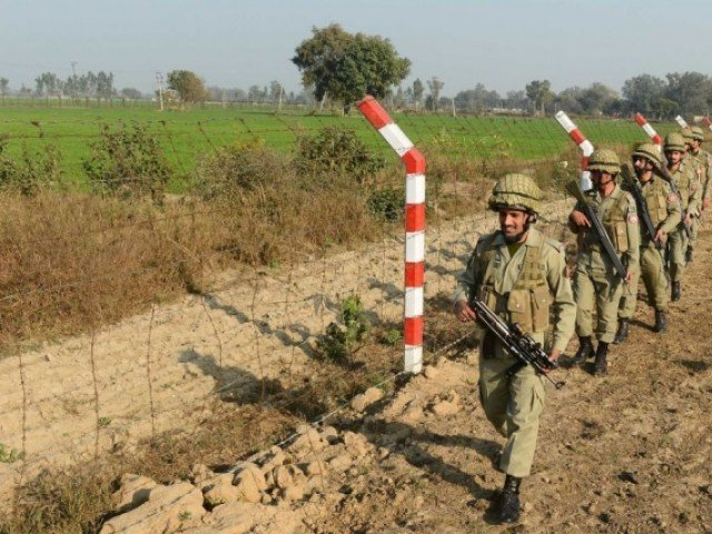 At least three Pakistani civilians sustained serious wounds in the Indian firing in Zafarwal Sector HOTO: FILE