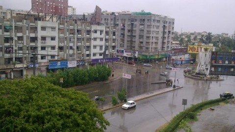 work starts on signal free corridor between jail chowrangi and hino chowrangi