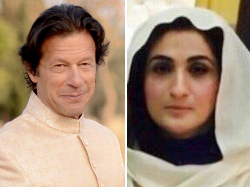 Imran Khan and Bushra Maneka. PHOTO: FILE