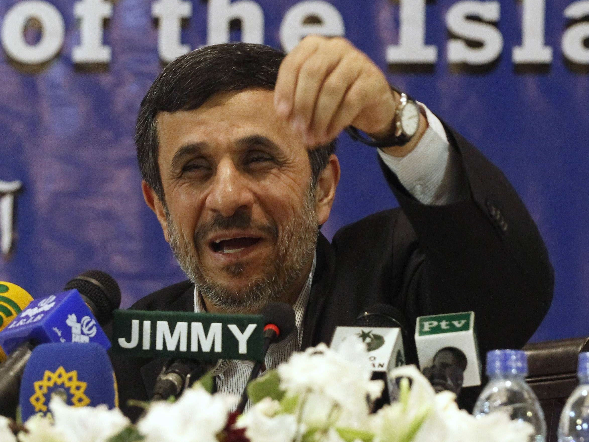 former iranian president ahmadinejad arrested for inciting unrest reports