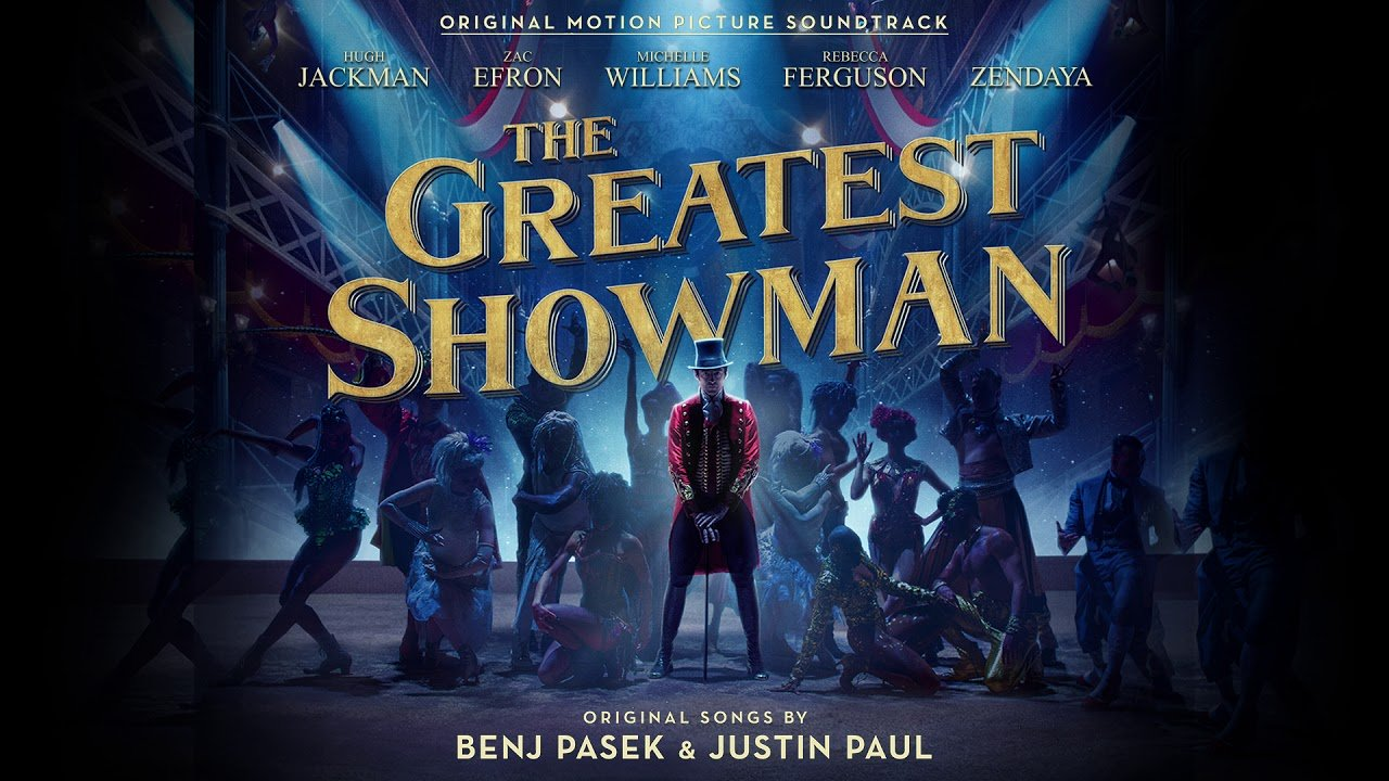 the greatest showman soundtrack swings to top of billboard 200 chart
