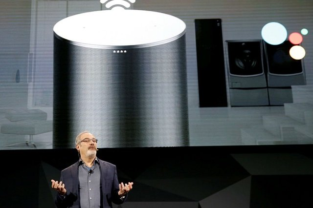 google teams with sony lenovo for smart speakers with touchscreens