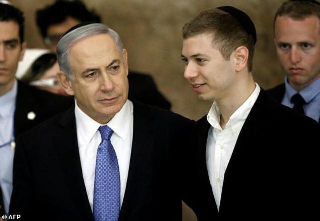 netanyahu son s strip club tape puts israeli pm on back foot