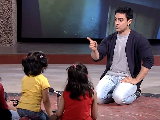 To the point: Aamir Khan tackles the subject of child abuse in this  throwback video