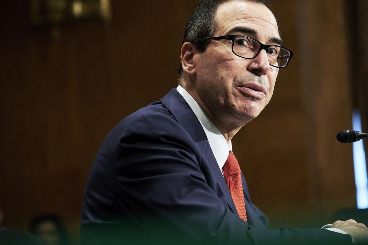 US Treasury Secretary Steven Mnuchin. PHOTO: AFP