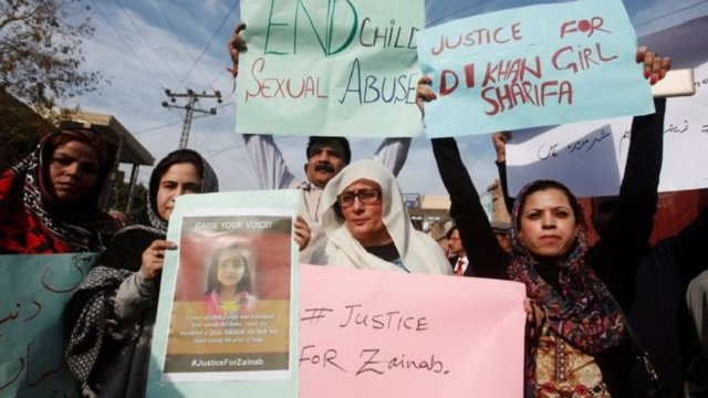 zainab 039 s murder has sparked protests across pakistan photo reuters