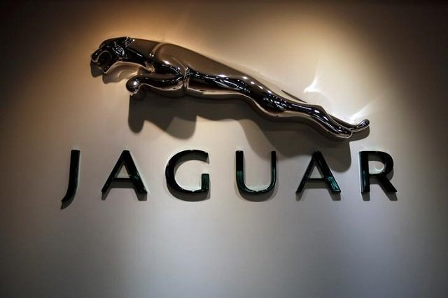The Jaguar logo is pictured at a Jaguar Land Rover showroom in Mumbai February 13, 2013. PHOTO: REUTERS