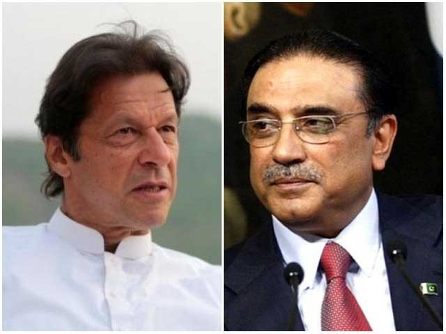 imran has refused to share stage with zardari during jan 17 pat led protest