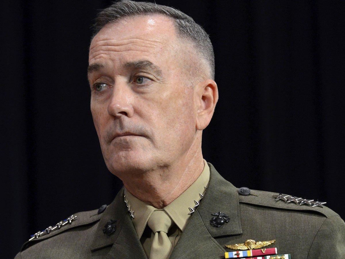 US General Joseph Dunford. PHOTO: AFP