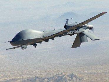drone strikes kill two near pak afghan border