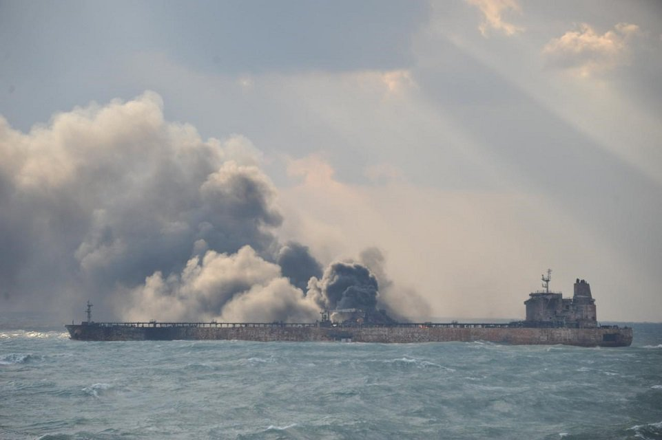 china says iranian oil tanker wreck located