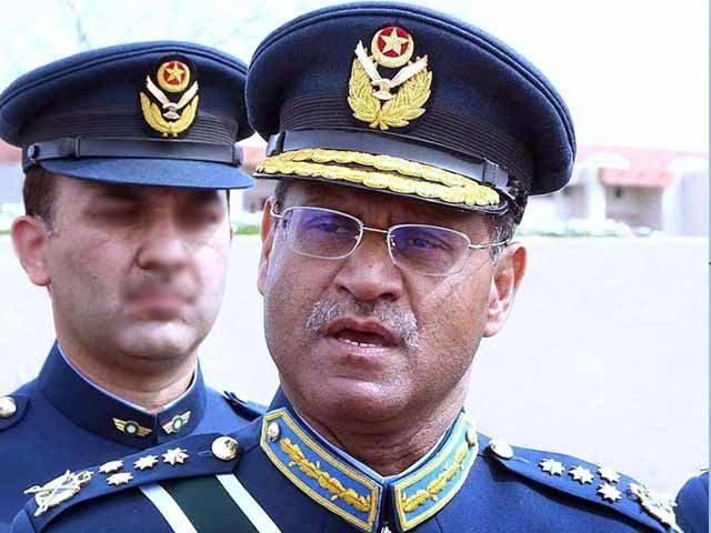 armed forces fully committed to safeguarding pakistan says air chief
