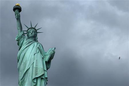 in new york tourists left high and dry as statue of liberty shuts down