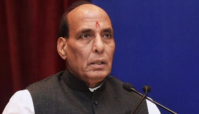 india has shown the world it can attack militants on pakistani soil home minister rajnath singh