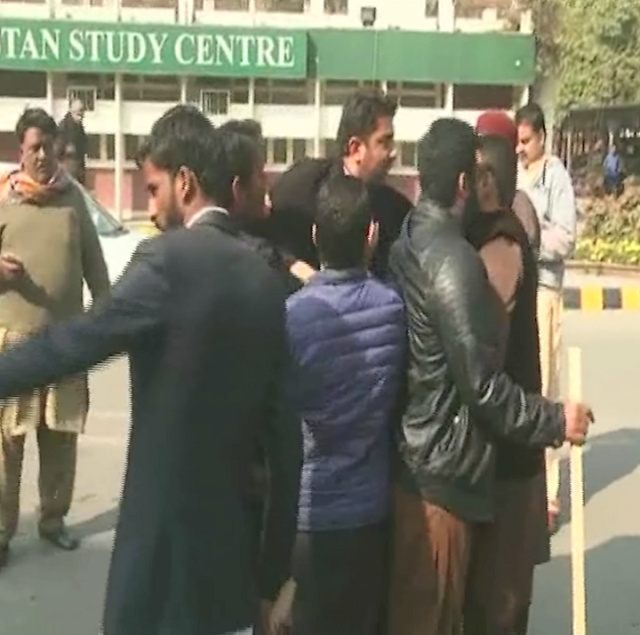 ijt stages sit in as violent clashes erupt between students at punjab university