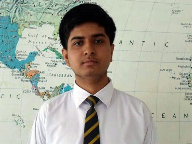 muhammad haider khan studies in bahria college karsaz karachi photo express