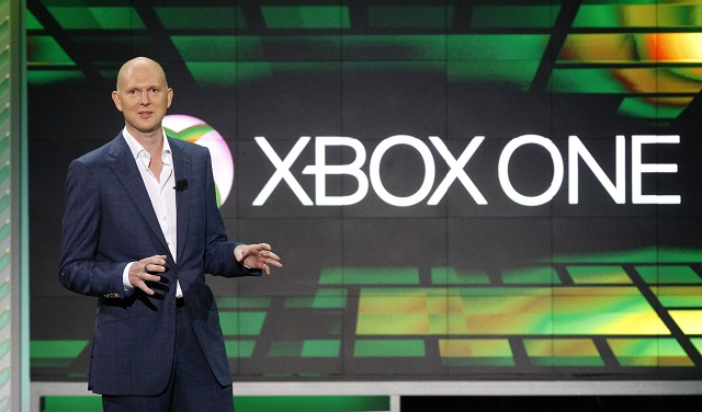 phil harrison corporate vice president of microsoft speaks during the xbox e3 media briefing at usc 039 s galen center in los angeles california june 10 2013 photo reuters
