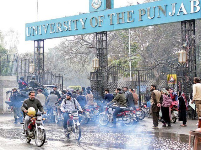 the students were arrested from the university and its hostels last night photo file