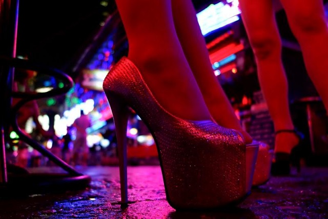 women stand outside a bar in a red light district in bangkok thailand july 12 2016 photo reuters