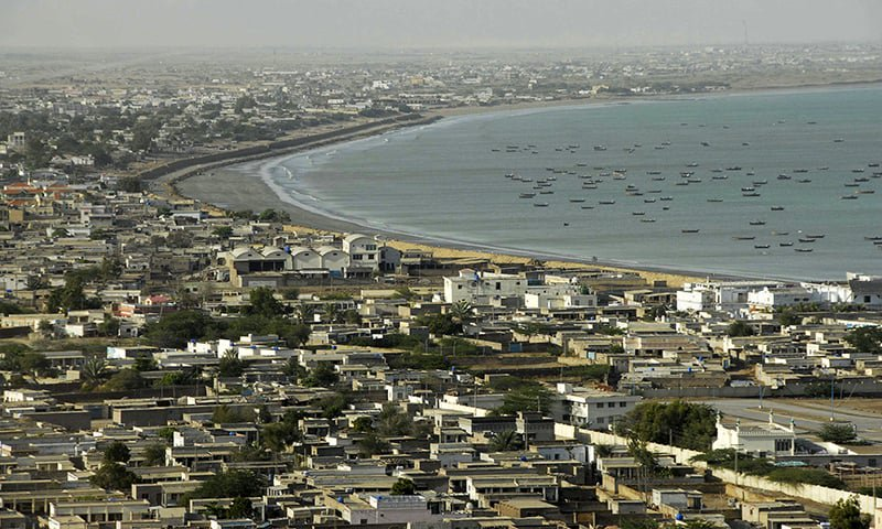 a general view of the pakistani coastal town of gwadar on the arabian sea in this march 19 2007 photo reuters