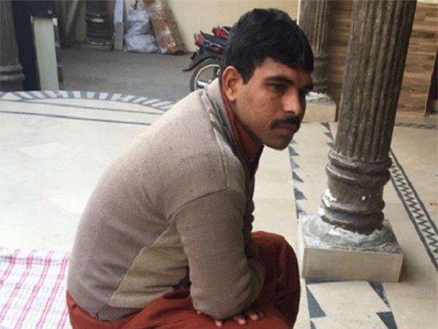 Prime suspect in Zainab rape, murder case, Imran. PHOTO: FILE
