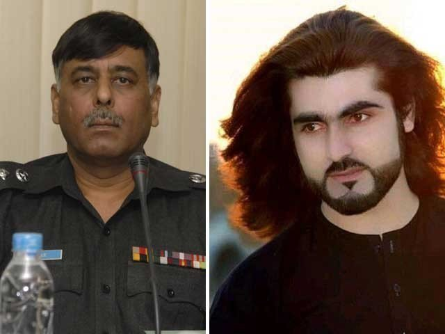 Former Malir SSP Rao Anwar and Naqeebullah Mehsud. PHOTO: FILE
