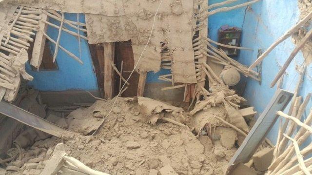 scenes of destruction in quetta photo express