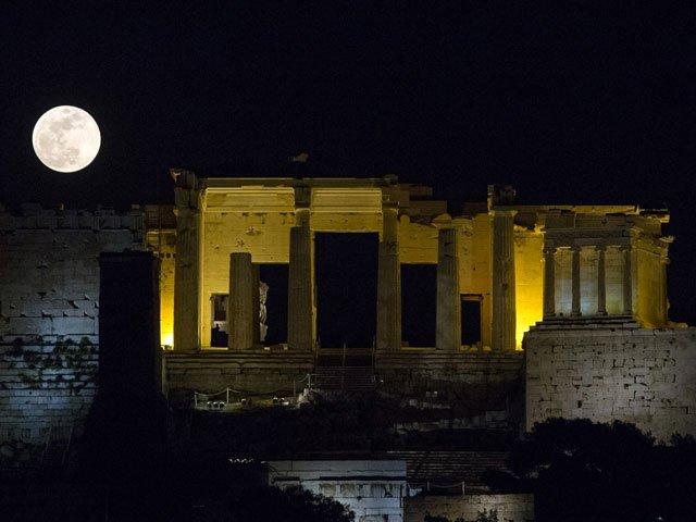 the acropolis athens afp angelos tzortzinis