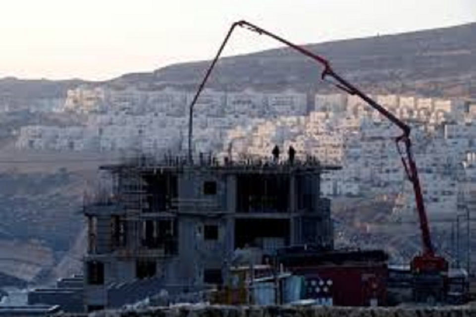 a construction site is seen in the israeli settlement of givat zeev in the occupied west bank december 22 2016 photo reuters file