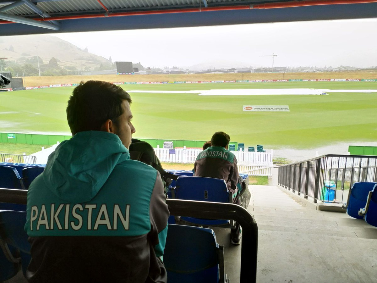 blessing in disguise pakistan faced defeats in their last two clashes with afghanistan but rain on wednesday at queenstown made sure they bagged a victory even without facing the neighbours photo courtesy icc