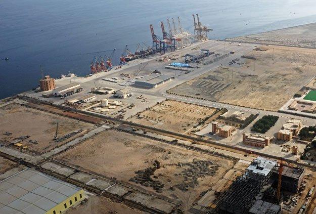 a general view of gwadar port in gwadar pakistan october 4 2017 photo reuters