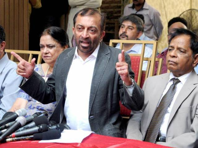 mqm p chief dr farooq sattar photo file
