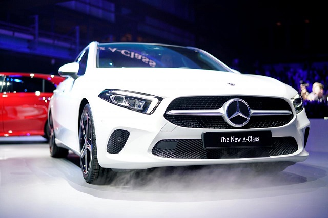 daimler 039 s new mercedes a class is presented in amsterdam netherlands february 2 2018 photo reuters