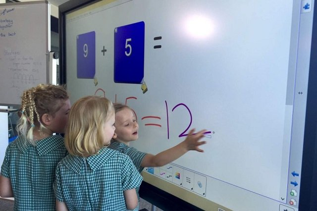transparent process sed voids tenders for interactive smart boards