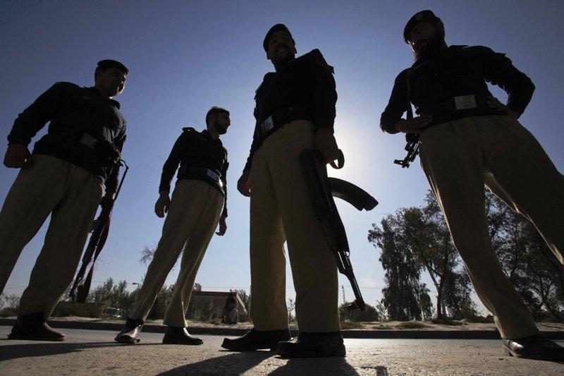 habibur rehman gives bahawalpur police awards for busting gang photo reuters file