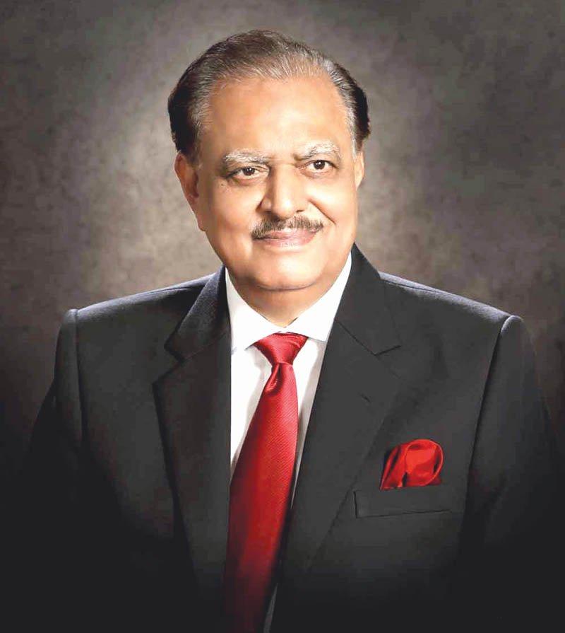 president mamnoon hussain photo file