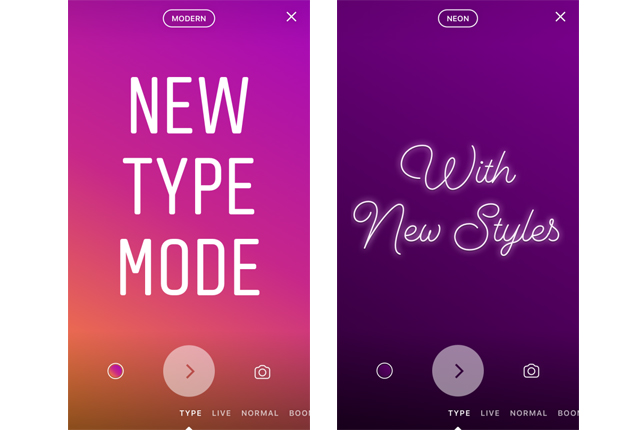 instagram rolls out new feature of typing with different options photo instagram