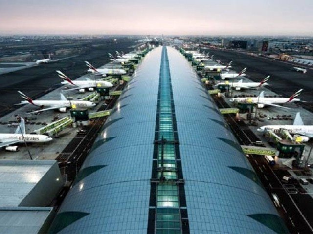 dubai airport retains top international spot in 2017