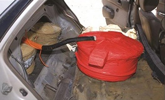 materials to make explosive devices seized